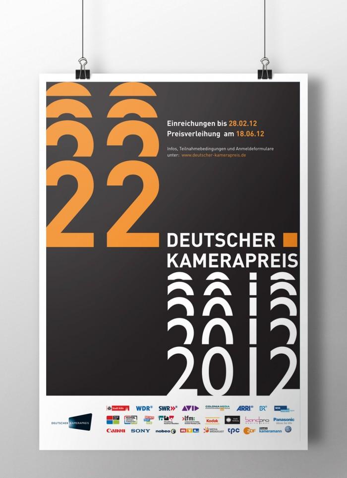 Deutscher Kamerapreis 2012 – Plakat