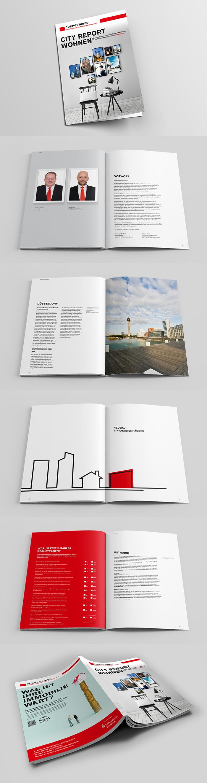 City Report Wohnen – Broschüre